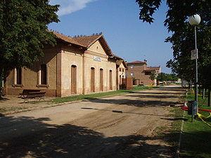 Llagostera - Old railway station