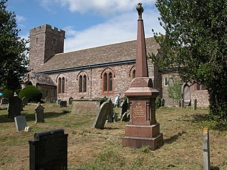 Llanvihangel Crucorney village in United Kingdom