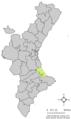 Localització d'Ador respecte del País Valencià.png