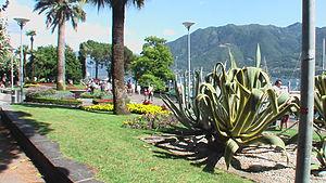 Uferpromenade in Locarno