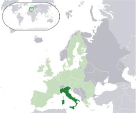 Vendndodhja -Italia