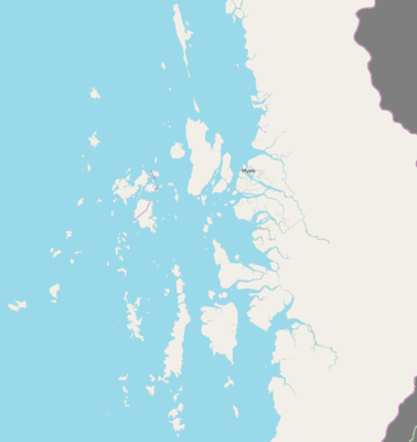 Location map Burma Mergui Archipelago