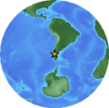 Location of April 21 2007 Chile earthquake.png