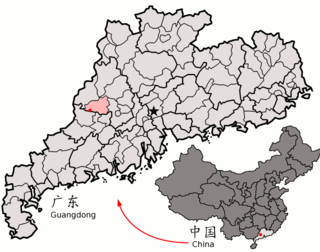 Deqing County, Guangdong County in Guangdong, Peoples Republic of China