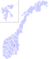 Location of Lillehammer in Norway..PNG