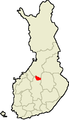 Location of Pihtipudas in Finland.png