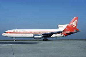 Air Lanka Flight 512 - Image: Lockheed L 1011 385 1 15 Tri Star 100, Air Lanka AN0710512