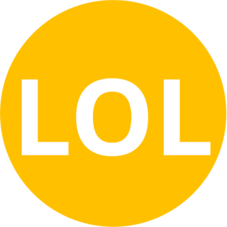 LOL Internet slang
