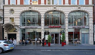 Vapiano - One Vapiano restaurant in Marylebone in the City of Westminster in London. In October 2016, there were four Vapiano restaurants in the United Kingdom: Three restaurants were located in London, one restaurant in Manchester.
