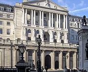 The Bank of England; the central bank of the United Kingdom.