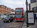 London Buses route 13 Frognal.jpg
