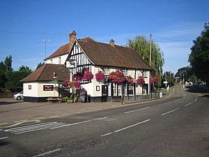 London Colney - Image: London Colney, The Bull geograph.org.uk 518485