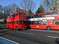 London Routemaster Bus 24 in Grosvenor Road Pimlico - geograph.org.uk - 3237434.jpg