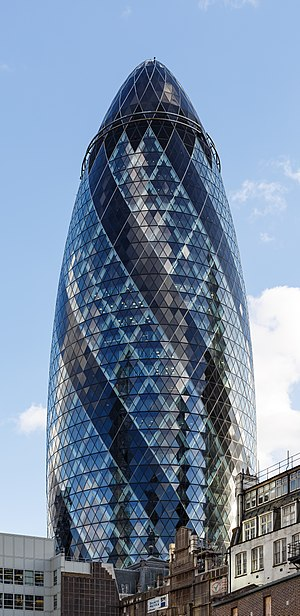 Kirkland & Ellis - Image: London UK Gherkin 01