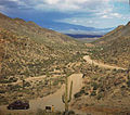Looking Down Toward Tucson From Gates Pass 1940.jpg