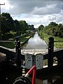 Looking South From Meaford Lock No. 33 - geograph.org.uk - 563772.jpg