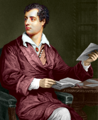 Lord Byron. Thomas Phillips festménye (1813)
