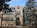 Loretto Abbey Catholic Secondary School entrance, Toronto.JPG