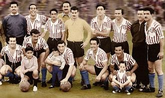Club Atletico Los Andes - Los Andes team in 1957, which obtained the Primera C title.