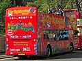 Lothian Buses open top tour bus 50x Dennis Trident SLF Alexander ALX400 T50x SSG City Sightseeing livery.jpg