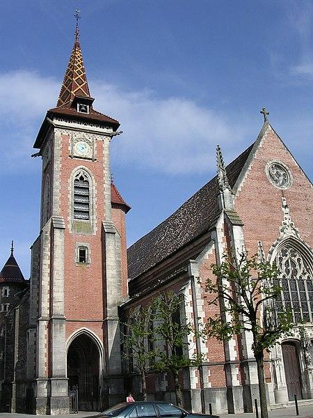 Church Saint-Peter of Louhans: Saône et Loire France