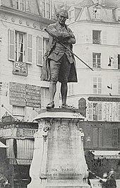 Louis Clausade: Denkmal für Beaumarchais (1897). (Quelle: Wikimedia)