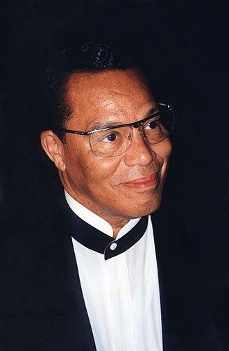 Louis Farrakhan - Farrakhan in 1997