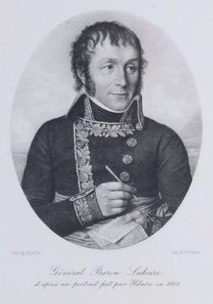 Louis Lahure - General Lahure in 1801.