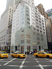 cbd1df80e93f The store on Manhattan s Fifth Avenue. A Louis Vuitton ...