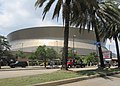 Louisiana Superdome from Poydras Avenue, New Orleans, July 2021 04.jpg