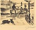 Lovis Corinth, Bathing Place (Badeanstalt), 1919, NGA 74738.jpg