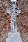 Lowertown celtic cross memorial to fallen canal workers.jpg