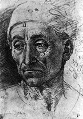 Head of a Poet Wearing a Cap