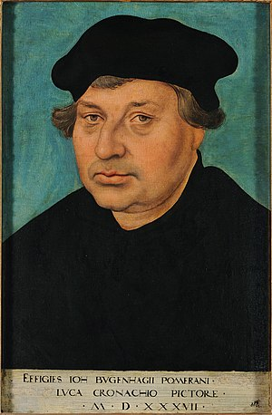 Reformation in Denmark–Norway and Holstein - Johannes Bugenhagen consecrated the first Lutheran bishops ('superintendents') in Denmark.