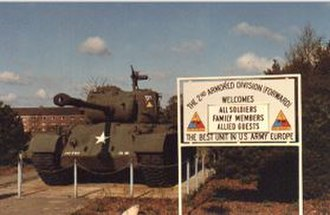 2nd Armored Division (United States) - Lucius D. Clay Kaserne was home to the U.S. Army's 2nd Armored Division (Forward) from 1978 to 1993. The kaserne was located 24 kilometers north of the city of Bremen.