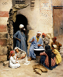Ludwig Deutsch : The Sahleb Vendor, Cairo