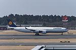 Lufthansa Airbus A340-313X D-AIGY at Narita Airport.jpg