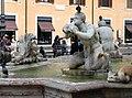 Luigi amici, tritoni e mascheroni della fontana del moro, copia da giacomo della porta, 1874, 06.jpg