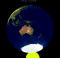 Lunar eclipse from moon-1955Jun05.png