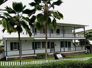 David Belden Lyman - The 1839 Lyman house is now a museum
