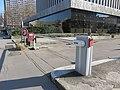 Lyon 3e - Barrière automatique FAAC rue du Dr Bouchut (fév 2019).jpg