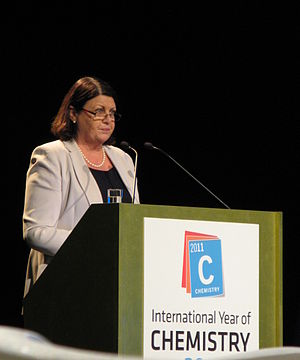 Máire Geoghegan-Quinn - Image: Máire Geoghegan Quinn International Year of Chemistry