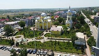 Comrat City in Gagauzia, Moldova