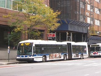 Nova Bus LF Series - Image: MTA New York City Bus Nova Bus LFS articulated (2010 non Select Bus Service)
