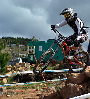 Downhill mountain biking - Downhill Mountain Biking.