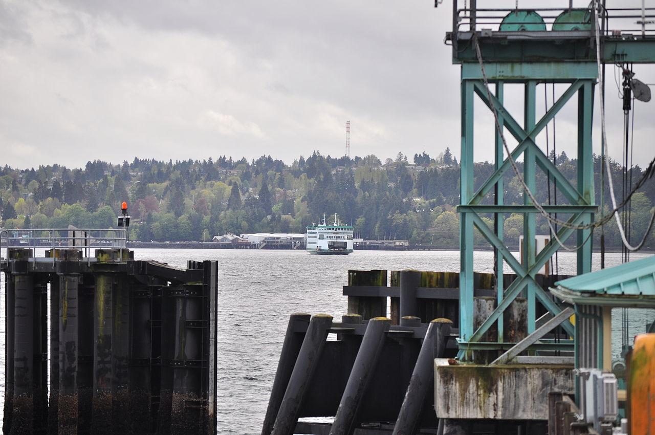 Ferry Point Defiance To Vashon Island