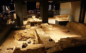 Maastricht - Roman sanctuary in the basement of Hotel Derlon