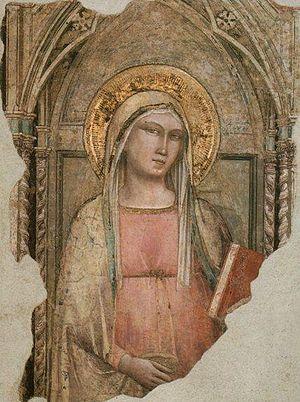 San Francesco di Paola, Florence - Madonna del Parto by Taddeo Gaddi