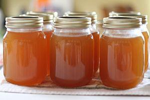 Maesil-cheong - Image: Maesilcheong (plum syrup) (prunus mume)