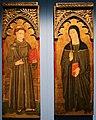 Maestro della madonna della misericordia di venosa, ss. antonio da padova e chiara, 1475-1500 ca. (genzano di lucania, m. ss.ma delle grazie) 01.jpg